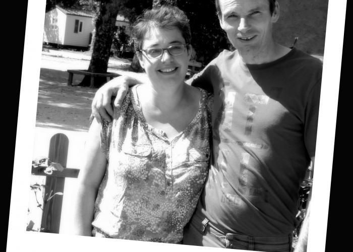 """Céline & Jean-Yves - """"Camping Le Rocher de La Granelle"""""""