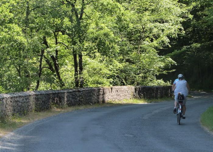 Promenade à vélo Peyzac le Moutier