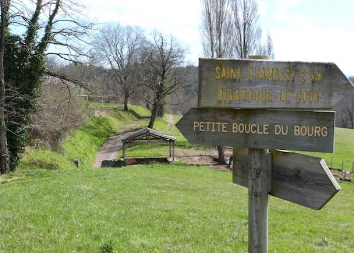 Randonnée à Audrix en vallée Vézère