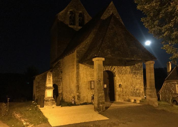 Savignac de Miremont by night ©A.Borderie