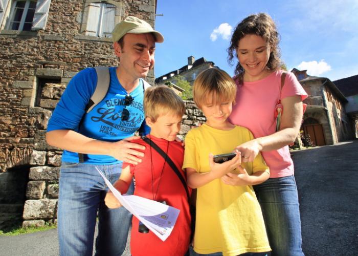 Terra Aventura, geocaching in family