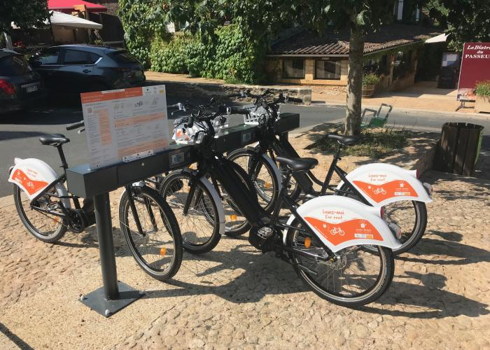 vélo à assistance électrique VAE en vallée Vézère