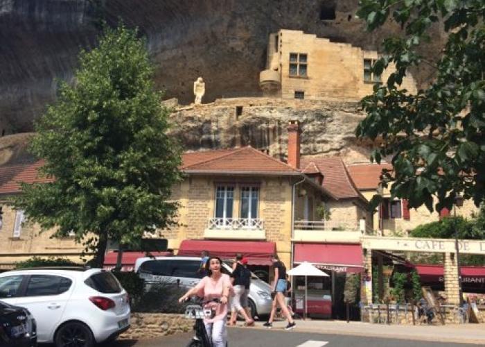 bici con asistencia eléctrica à Lascaux-Dordogne