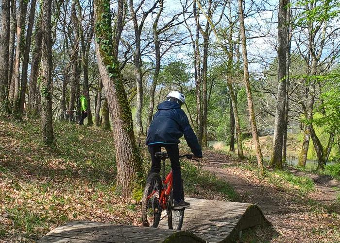Domaine Départemental de Campagne - Bike park ©CD24