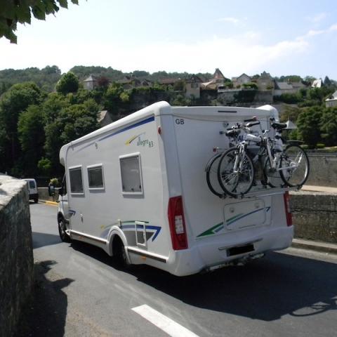 Camping car -Montignac©ALR