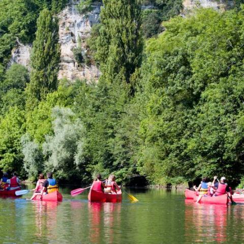 canoe - river vezere