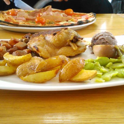 Plat canard pomme de terre sarladaise
