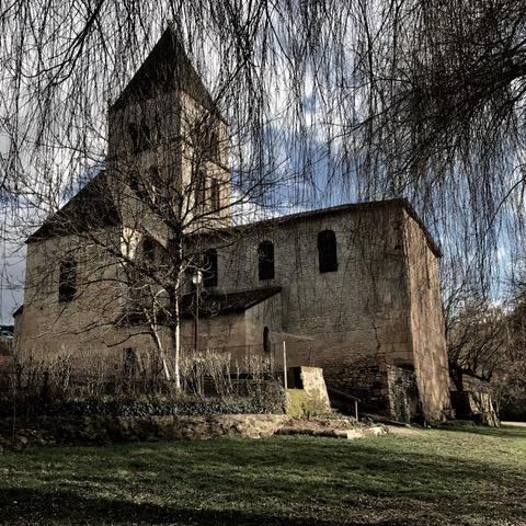 Eglise de Saint Léon sur Vézère ©A.Borderie