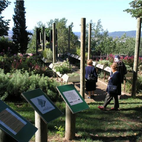 Jardins Panoramiques de Limeuil ©aufildutemps