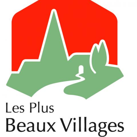"Logo ""Les plus beaux villages de France"""