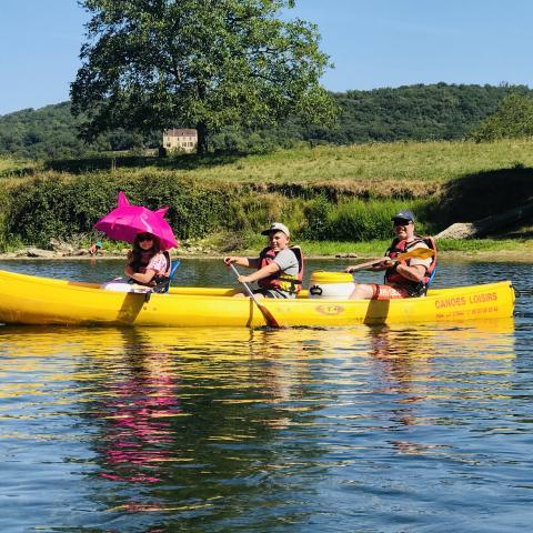 canoe_lascaux_dordogne_vallee_vezere©le manoir du chambon