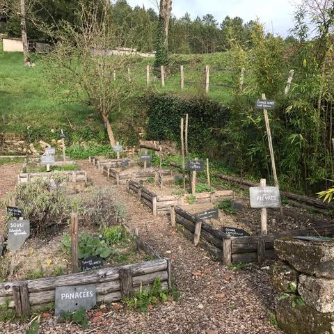 Jardin médiéval de Plazac ©A.Borderie