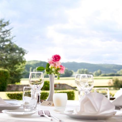 Restaurant Château de la fleunie
