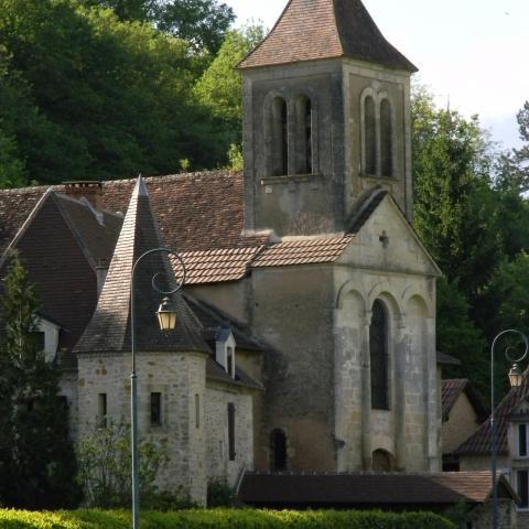 Saint Félix de Reilhac église   Vallée Vézère