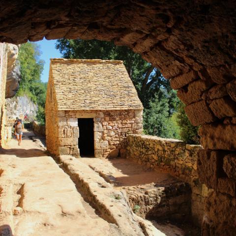 Village de la Madeleine, tursac