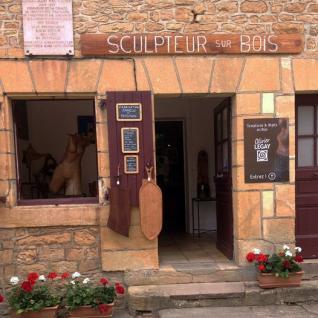 Boutique_Sculptures_et_Objets_en_Bois_saint_léon_sur_vézère ©Olivier Legay